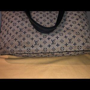 Louis Vuitton Bags - Louis Vuitton Blue Monogram mini Lucille GM
